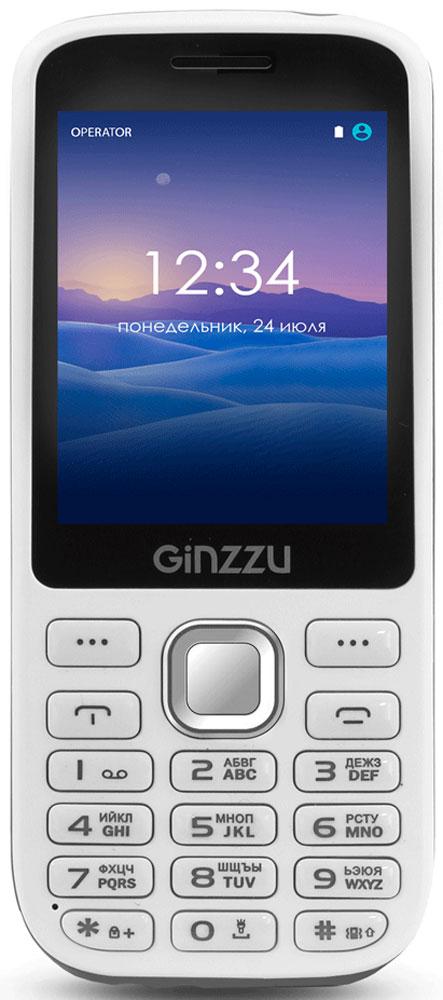 Ginzzu M201, White Gray