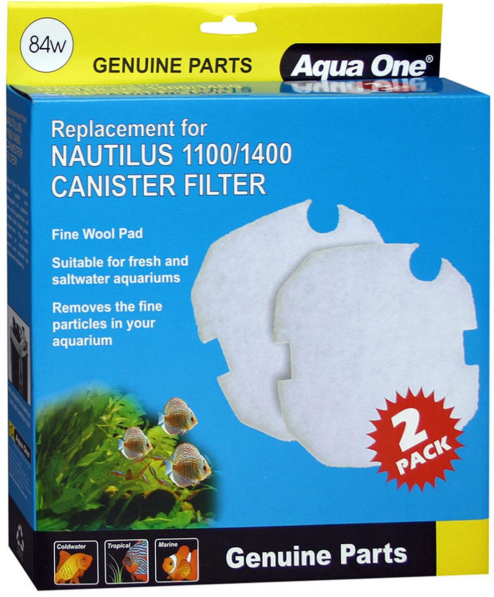 Синтепон Aqua One Nautilus 1100/1400, для внешних фильтров original aspire nautilus 2 coils(5pcs)