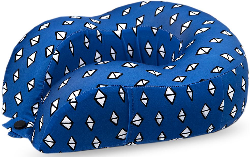 Подушка для путешествий Mettle Ромбик, ортопедическая