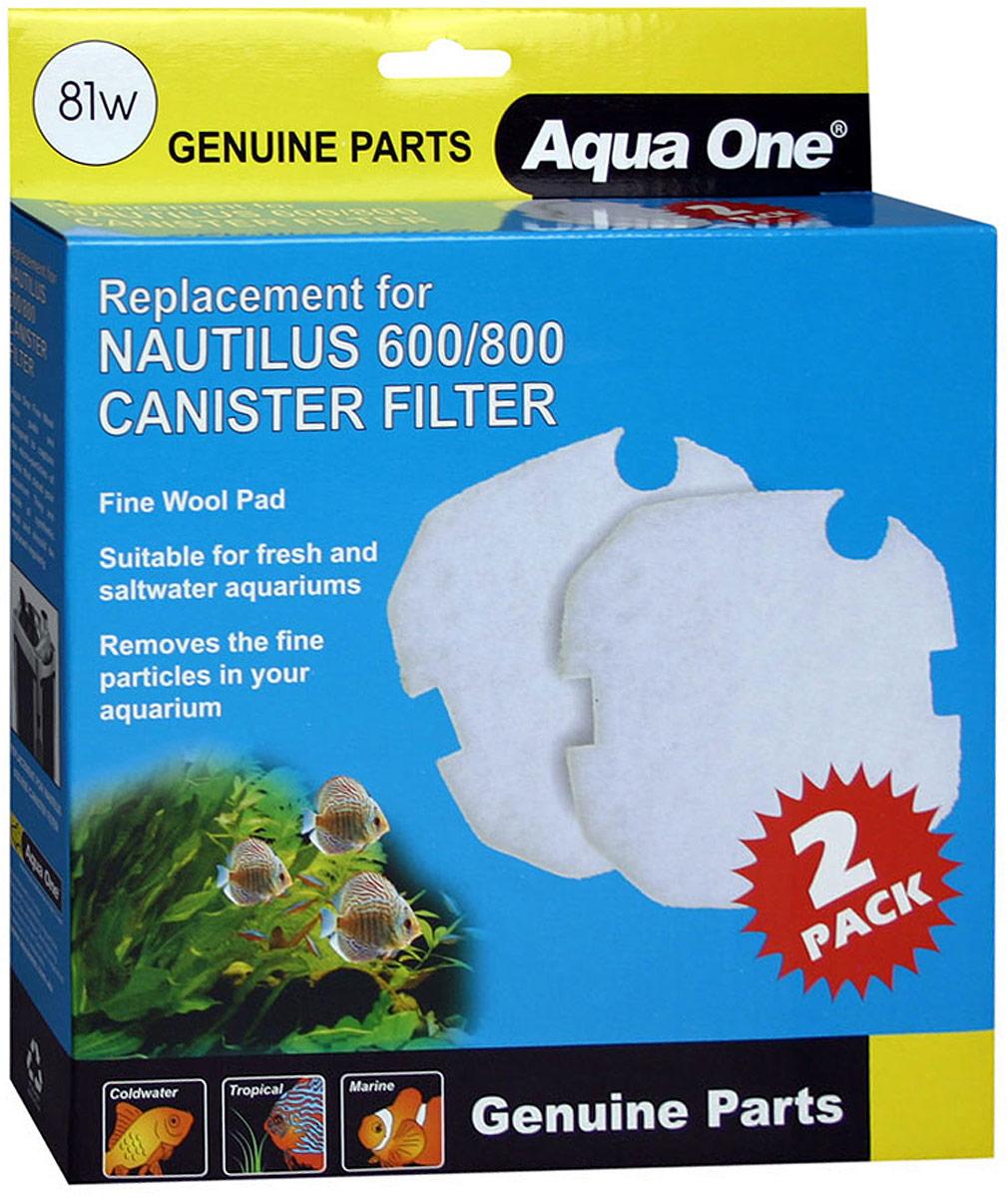 Синтепон Aqua One Nautilus 600/800, для внешних фильтров free shipping 10pcs bt139 800 bt139 600