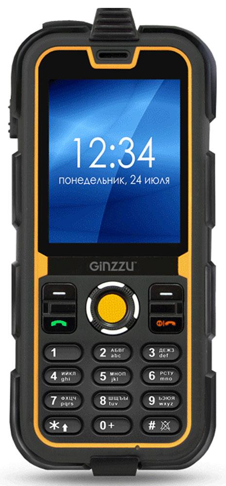 Ginzzu R62, Black Orange