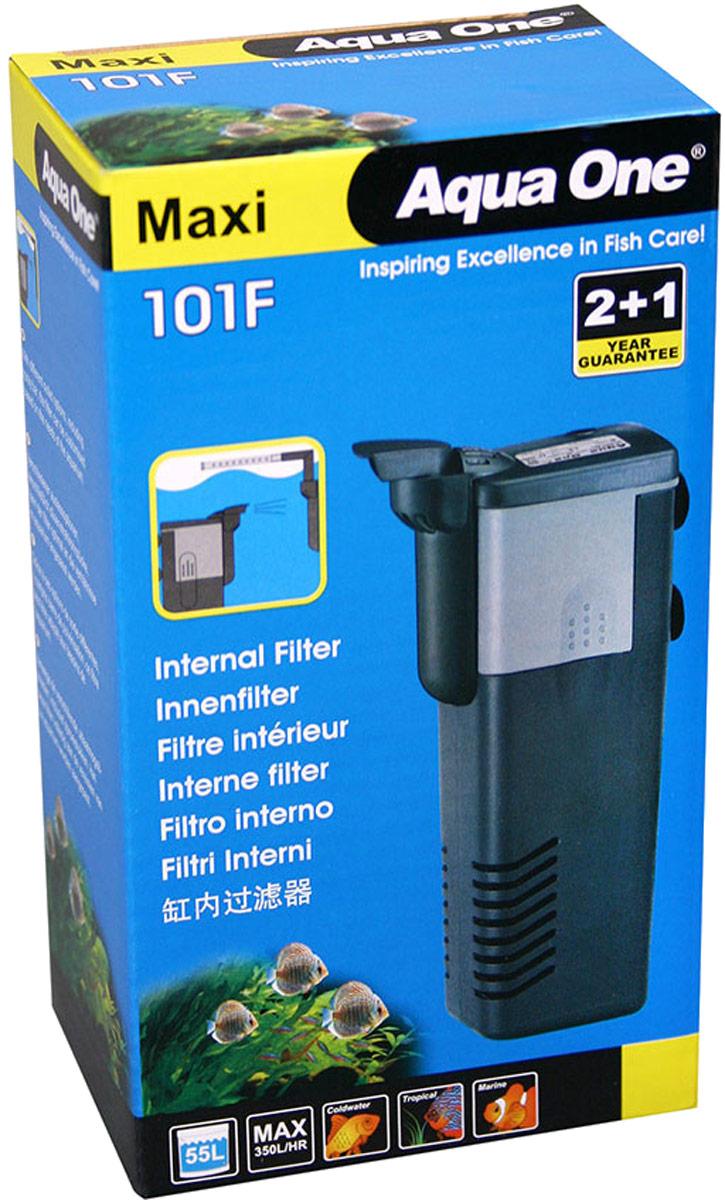 Фильтр Aqua One Maxi 101F, внутренний, до 55 л, 350 л/ч, 4,2W уни фильтр aqua el unifilter 360 внутренний 100 340л ч