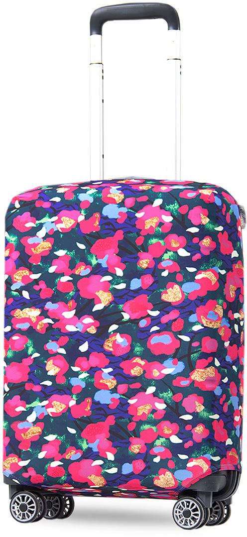 Чехол на чемодан Mettle ART.LEBEDEV. Весна, размер S (высота чемодана: 50-55 см)