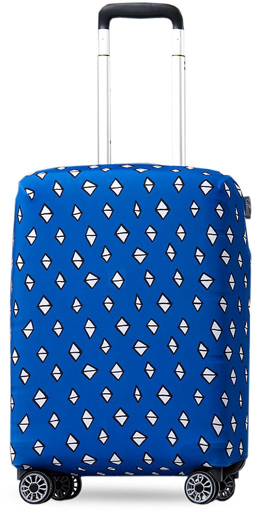 Чехол на чемодан Mettle ART.LEBEDEV. Ромбик, размер S (высота чемодана: 50-55 см)