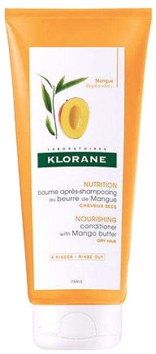 Klorane Бальзам-кондиционер с маслом манго, 200 млC60504Нежная эмульсия дополняющая действие питательного шампуня KLORANE с маслом манго.В состав бальзама-ополаскивателя KLORANE с маслом манго входит питательный активный компонент, разглаживающий чешуйки и покрывающий волос защитной оболочкой. Даже самые непослушные волосы приобретают мягкость и сияние, легко укладываются и расчесываются.