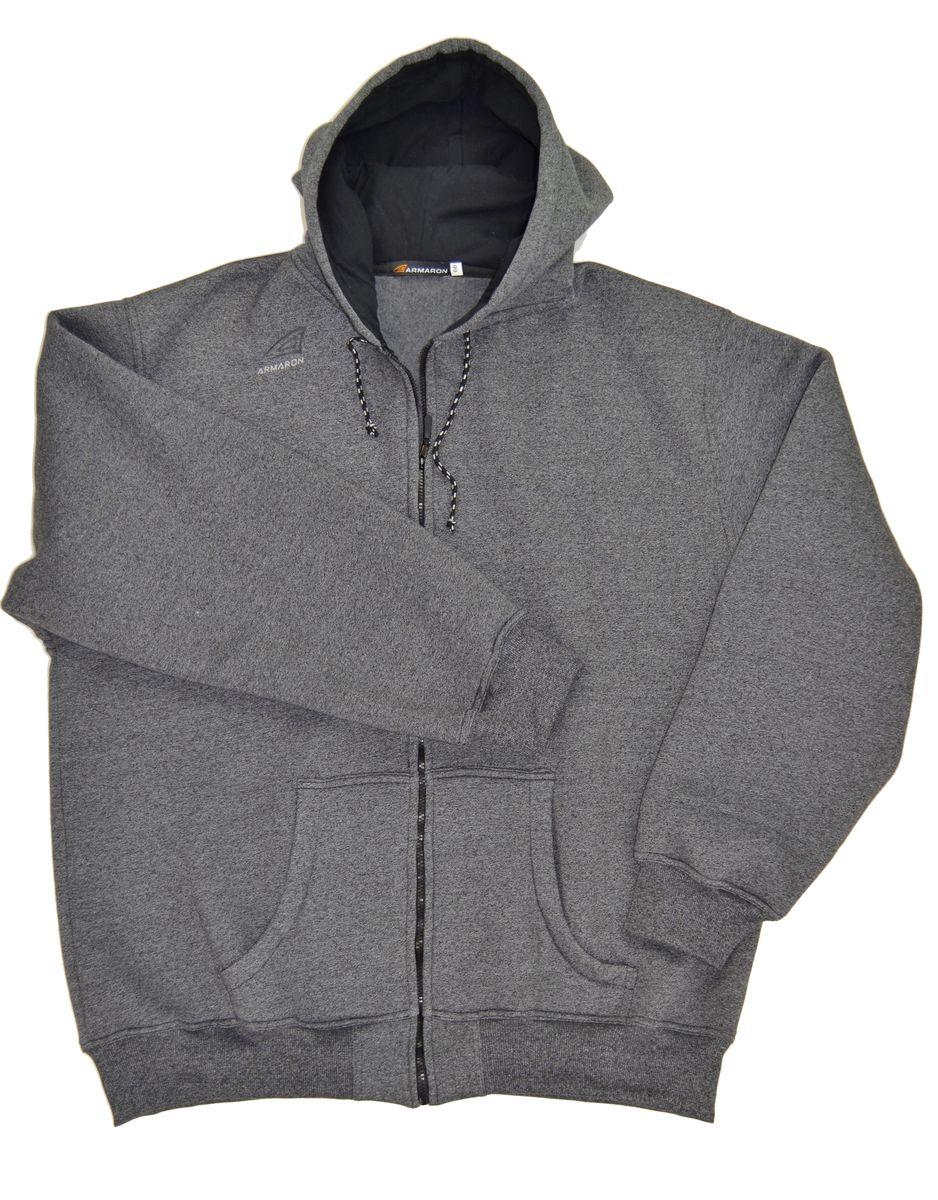 Толстовка мужская Armaron, цвет: серый меланж. В-42/1м. Размер 80 шорты armaron шорты