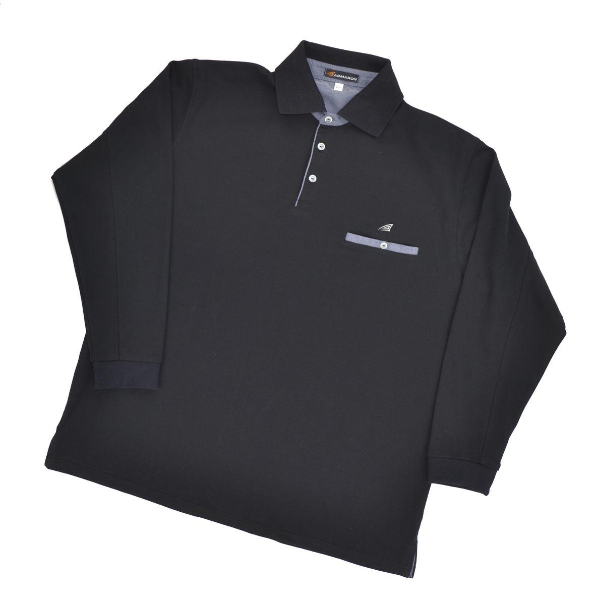 Поло мужское Armaron, цвет: черный. 71/ч. Размер 80 шорты armaron шорты