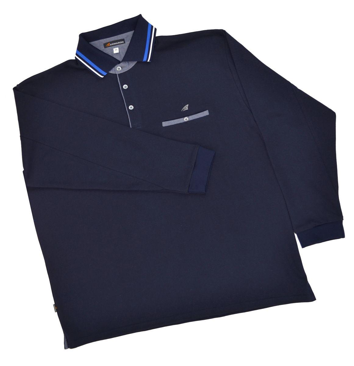 Поло мужское Armaron, цвет: синий. 71/син. Размер 80 шорты armaron шорты