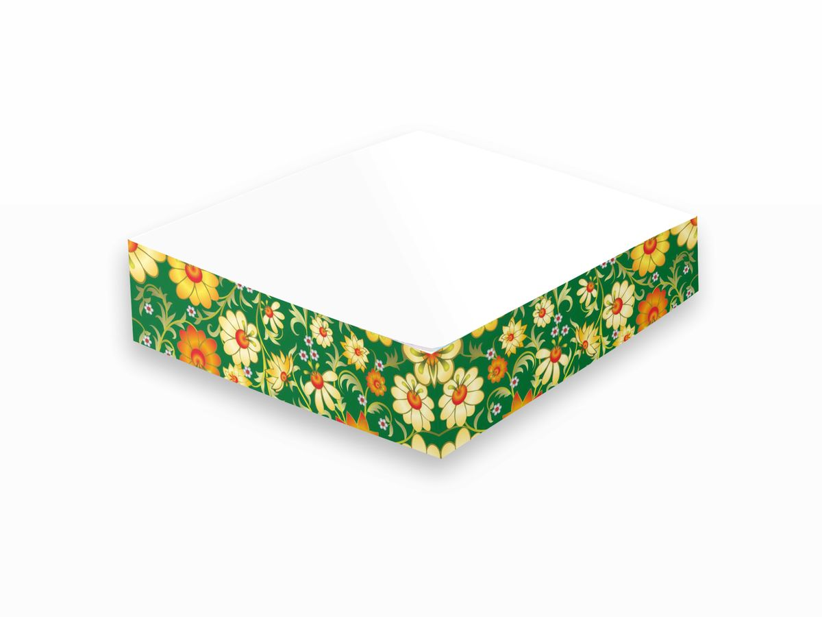 Фолиант Блок для записей Русские напевы 8,5 х 8,5 см 200 листов БЗТ-85/4 записные книжки фолиант книга для записей кулинарных рецептов