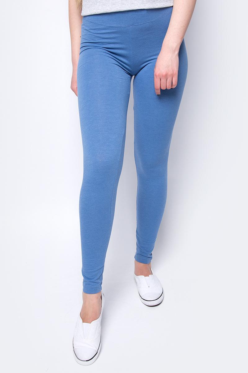 Брюки женские Sela, цвет: голубой. PLG-115/862-8192. Размер XS (42) брюки женские sela цвет фиолетовый pk 115 863 8192 размер s 44
