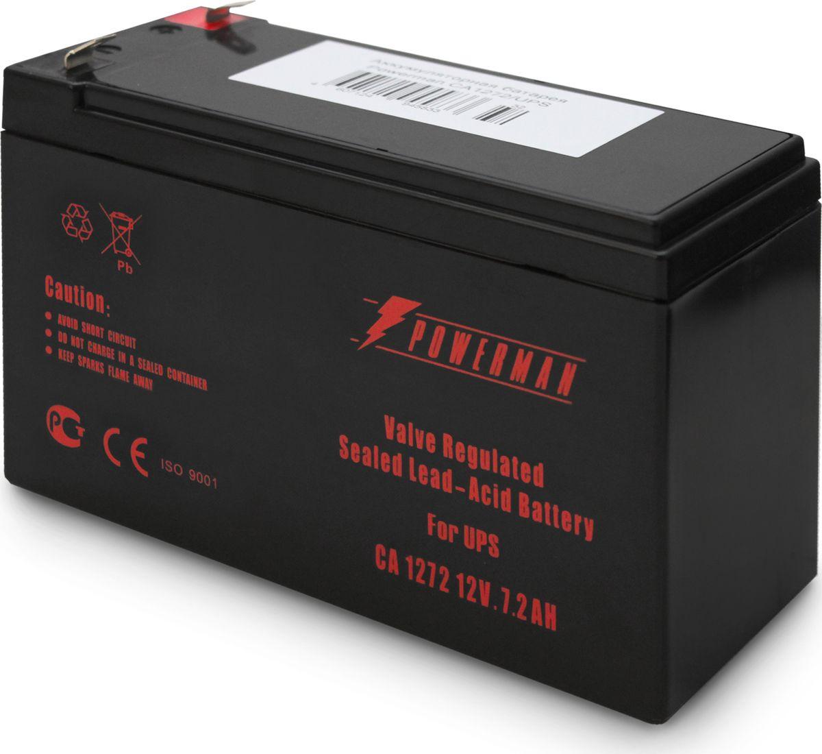Аккумулятор Powerman  CA1272/UPS , 7200 мАч - Источники бесперебойного питания (UPS)
