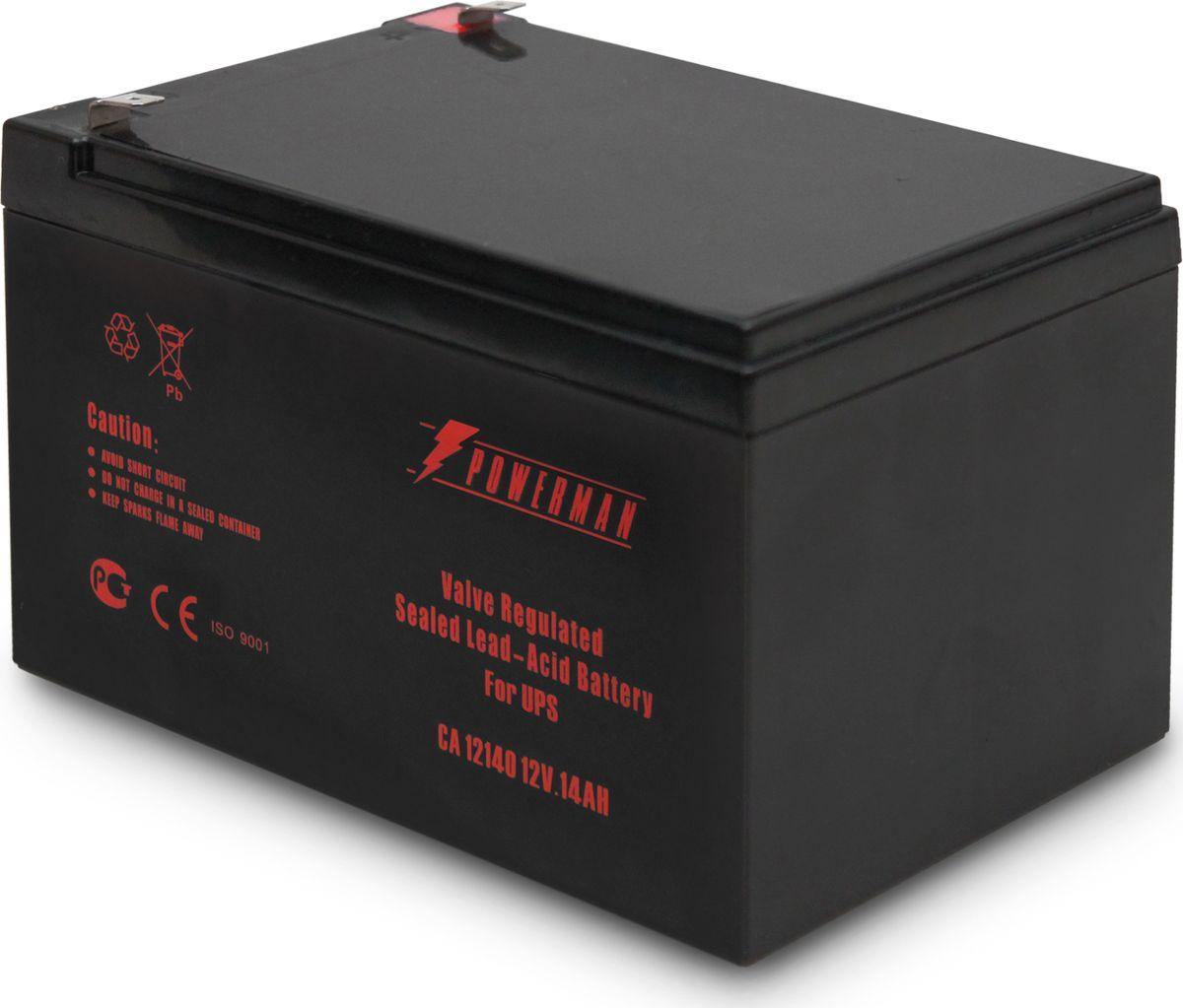 Аккумулятор Powerman  CA12140/UPS , 14000 мАч - Источники бесперебойного питания (UPS)