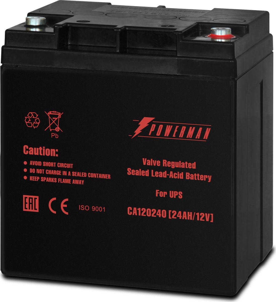 Аккумулятор Powerman  CA12240/UPS , 24000 мАч - Источники бесперебойного питания (UPS)
