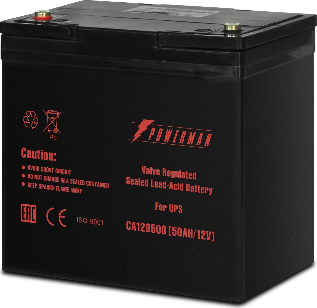Аккумулятор Powerman  CA12500/UPS , 50000 мАч - Источники бесперебойного питания (UPS)