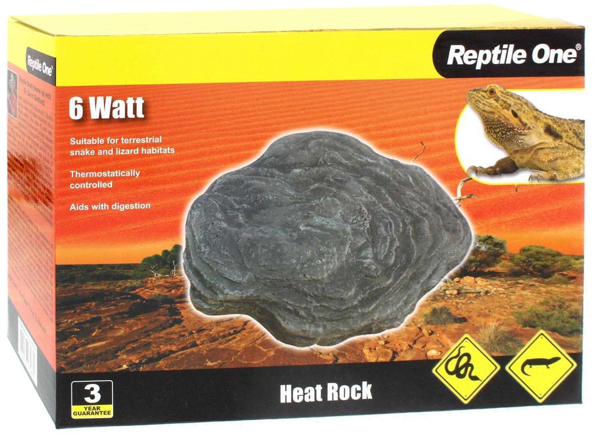 Греющий камень Aqua One  Reptile One Heat Rock , с встроенным термостатом, 6W - Аксессуары для аквариумов