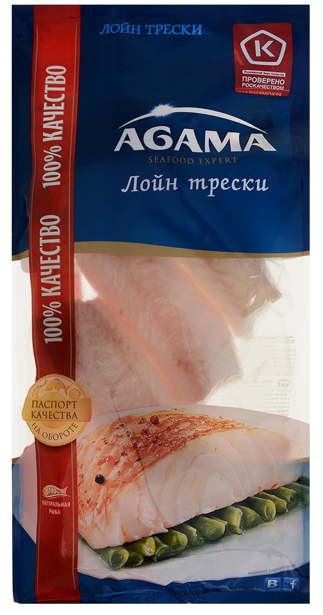 Agama Треска филе (лойн) без кожи, 400 г