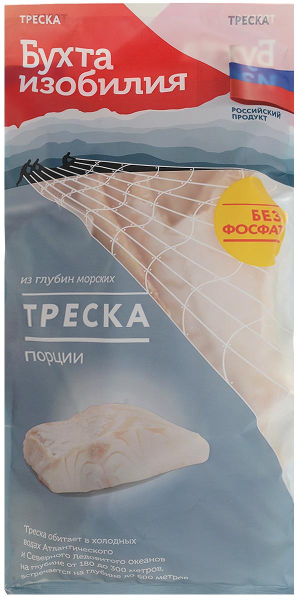 Бухта Изобилия Треска мурманская, порции, 700 г бухта изобилия очищенные креветки 200 300 варено мороженые 200 г