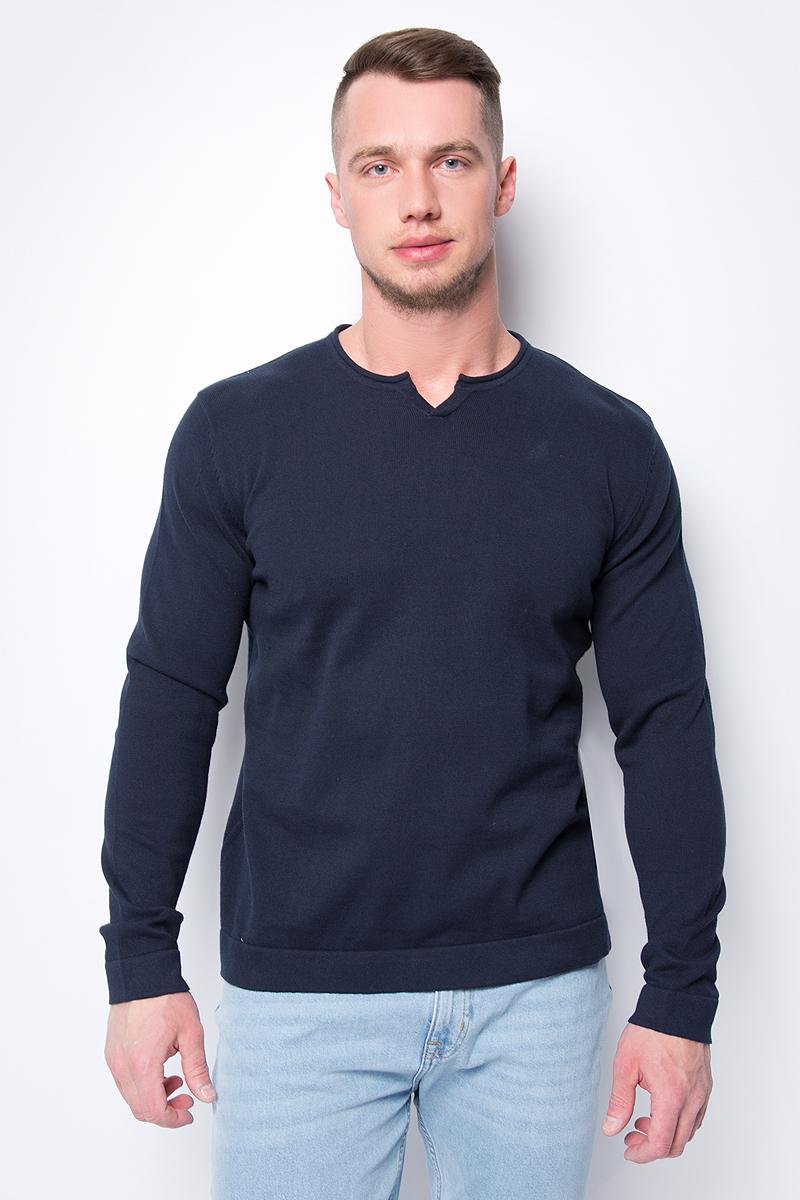 Джемпер мужской Top Secret, цвет: темно-синий. SSW2319NI. Размер XXL (52)
