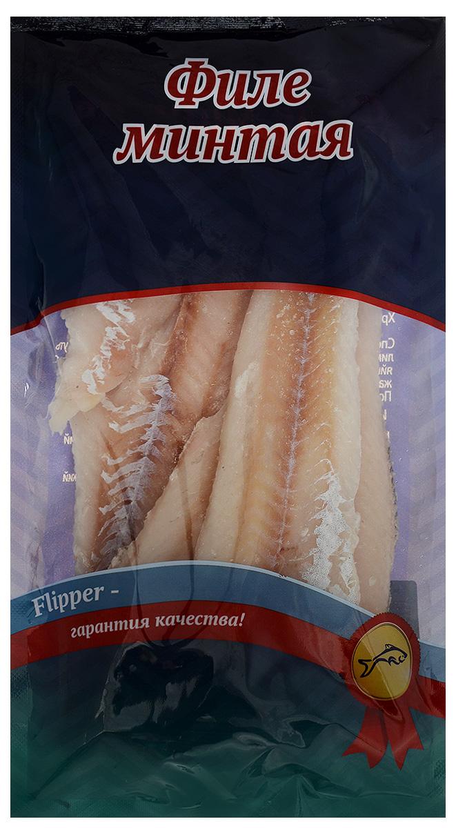 Flipper Минтай, филе без кожи, 600 г