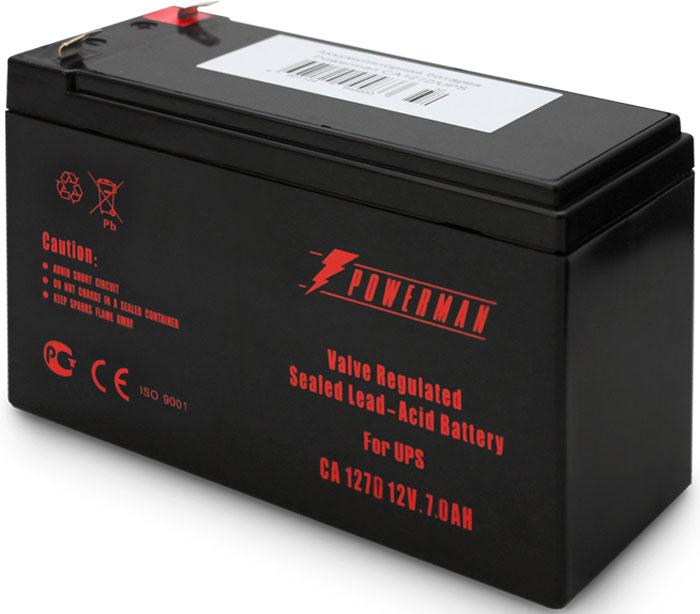 Аккумулятор Powerman  CA1270/UPS , 7000 мАч - Источники бесперебойного питания (UPS)