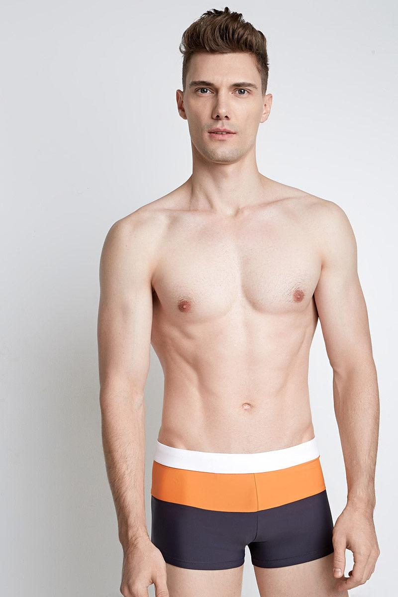 Плавки мужские Infinity Lingerie Slok, цвет: оранжевый. 33104730020_1300. Размер L (48) плавки мужские joss цвет синий оранжевый mhb23s6 me размер 56