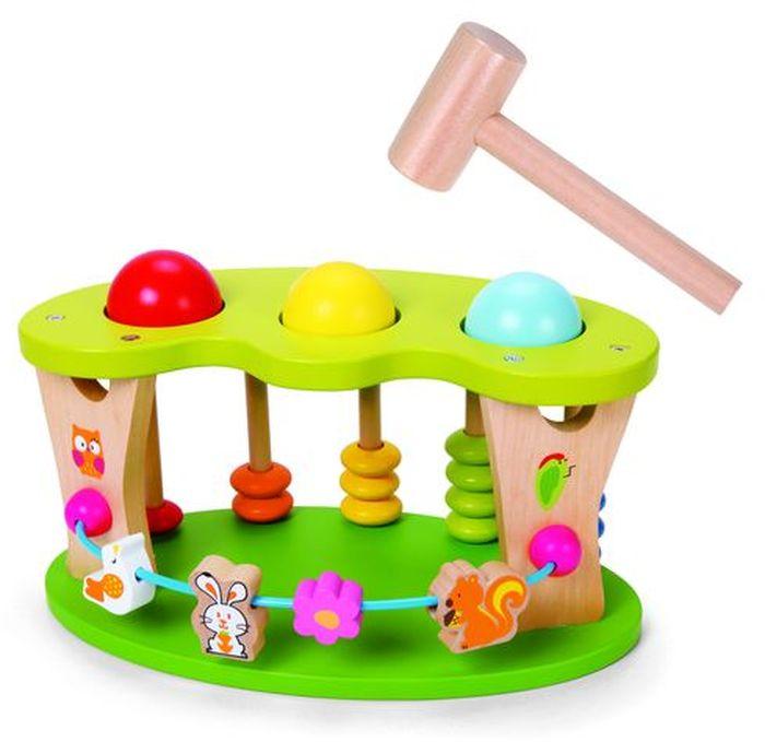 Classic World Игрушка-колотушка Цветочная поляна -