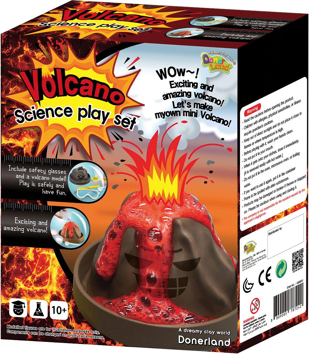 Donerland Набор для опытов и экспериментов Volcano Dino Play Volcano Sience Play Set