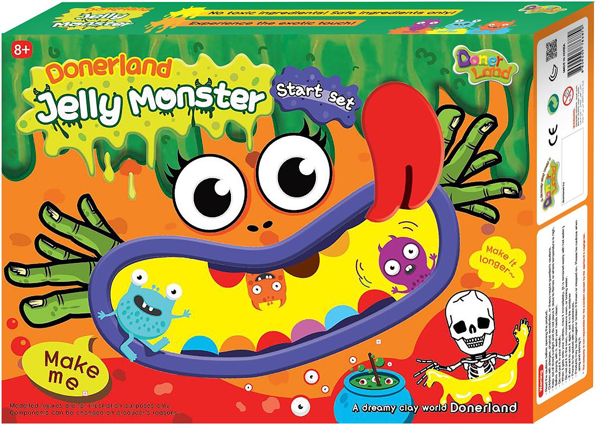 Donerland Набор для опытов и экспериментов Jelly Monster Starter Set