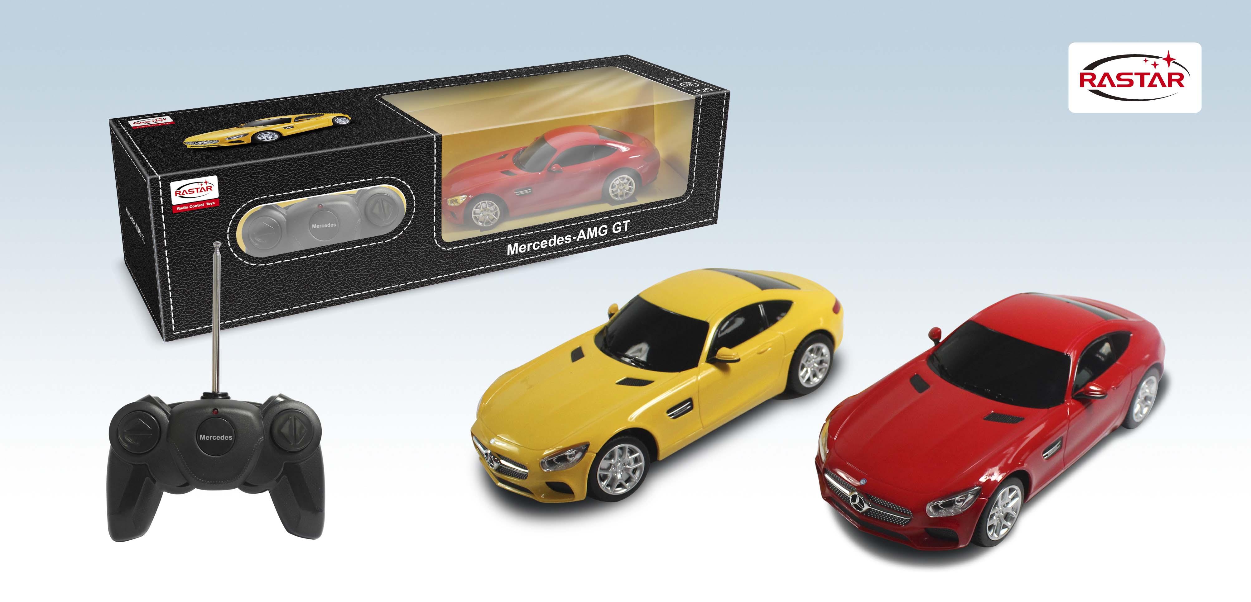 Rastar Радиоуправляемая модель Mercedes AMG GT3 масштаб 1:24