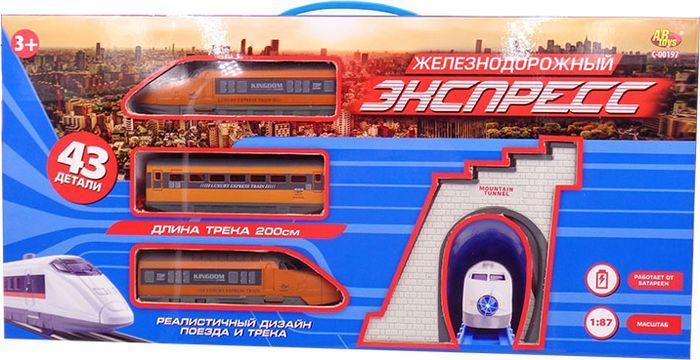 ABtoys Железная дорога Экспресс C-00197(WB-A4917) набор сундучков roura decoracion 26 х 20 х 15 см 2 шт 34791