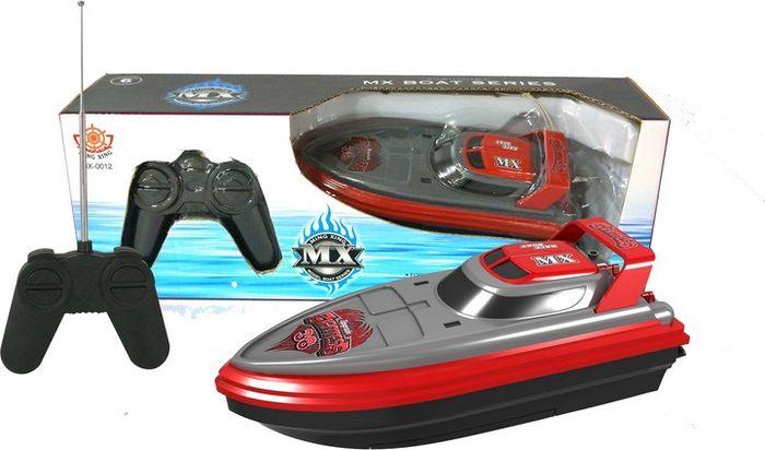 Junfa Toys Катер на радиоуправлении цвет красно-серый