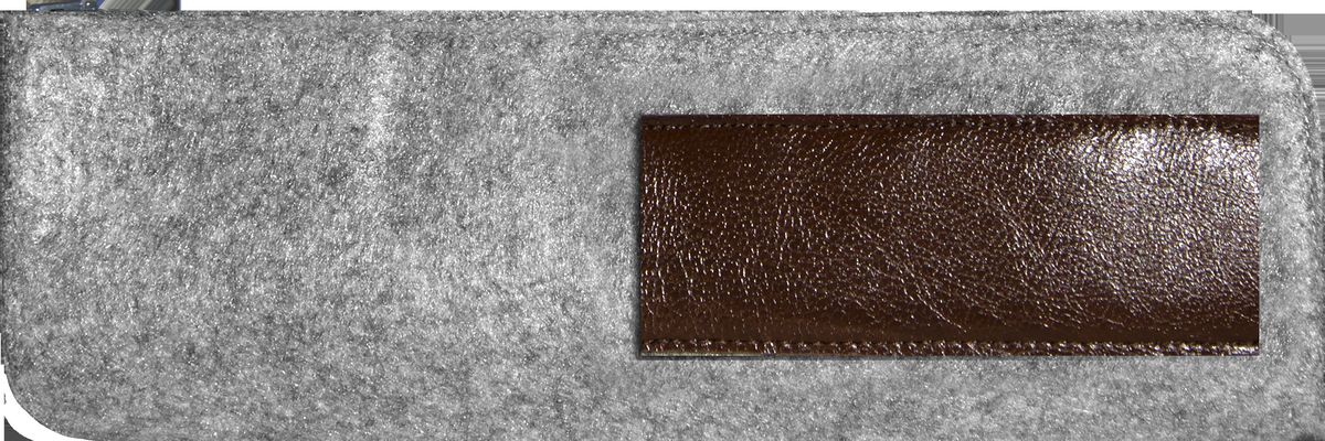 Feltrica Пенал цвет серый черный4627130650828Удобный аксессуар из фетра, подчеркнет индивидуальность своего обладателя и станет незаменимым помощником в повседневной жизни.