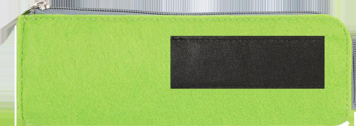 Feltrica Пенал цвет зеленый черный