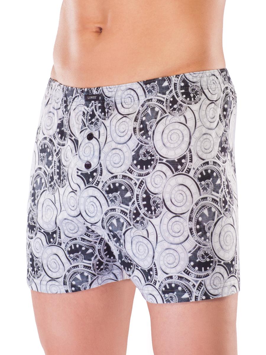 Купить Трусы мужские Lowry, цвет: серый. MSH-425. Размер XL (48/50)
