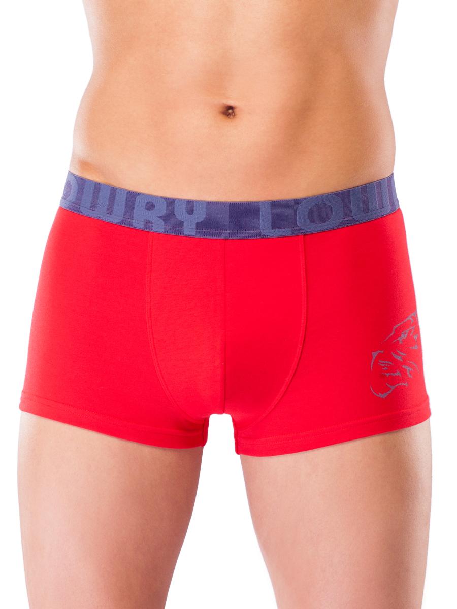 Трусы-боксеры мужские Lowry, цвет: красный. MSHL-451. Размер XXL (50/52) трусы боксеры diesel 00sj54 0kapm 912