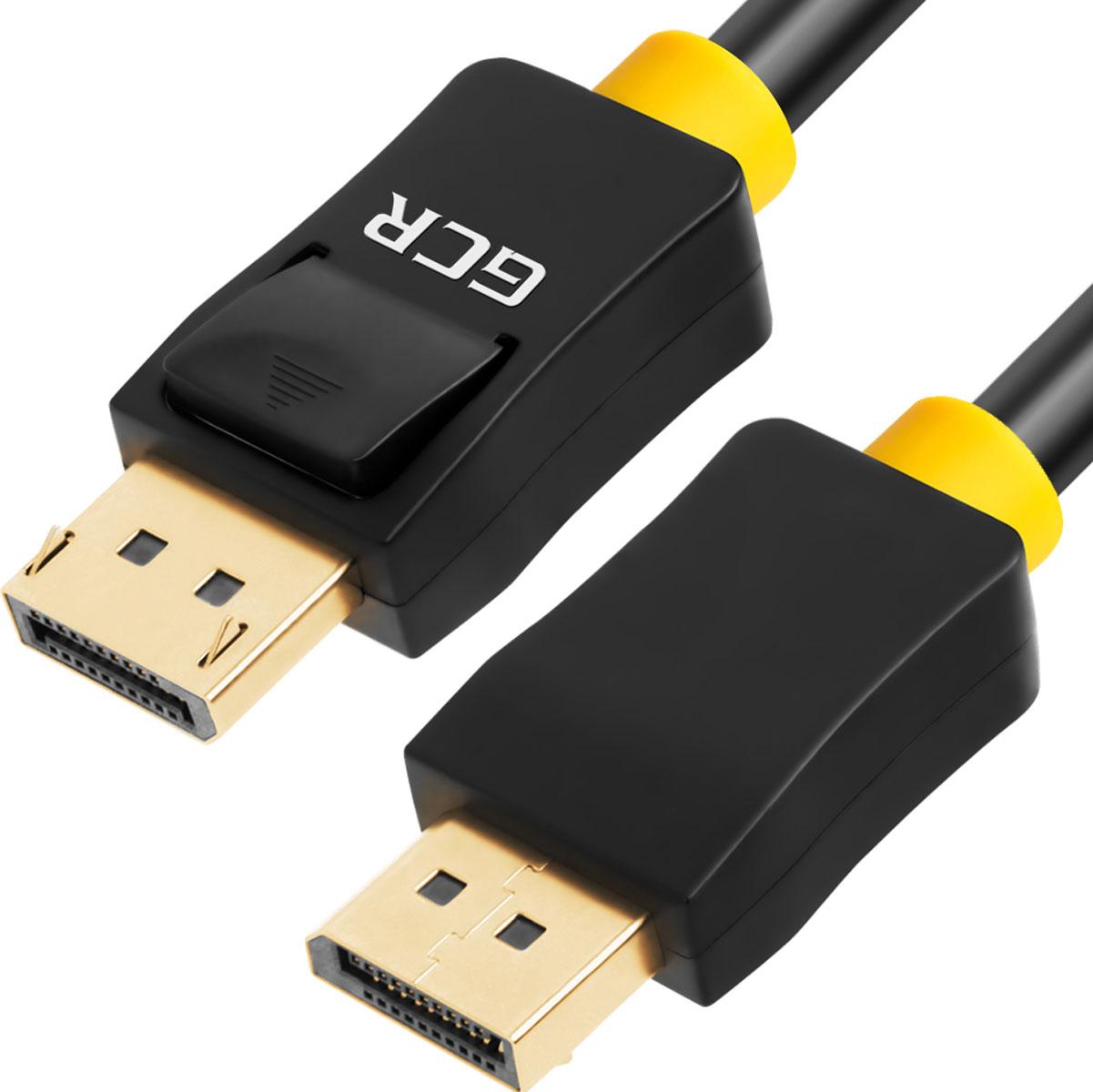 Greenconnect GCR-DP2DP кабель DisplayPort (1 м)GCR-DP2DP-1.0mКабель Greenconnect GCR-DP2DP предназначен для устройств Displayport. Например, вы можете подключить монитор к компьютеру для передачивидео и аудио сигнала. Он также может быть использован для подключения ТВ к компьютеру, DVD-плееру и другим устройствам. Экранированиекабеля позволит защитить сигнал при передаче от влияния внешних полей, способных создать помехи. Пропускная способность интерфейса: до 10,8 Гбит. Тип разъемов кабеля или переходника: 20M [штекер]/20M (штекер), позолоченные контакты.