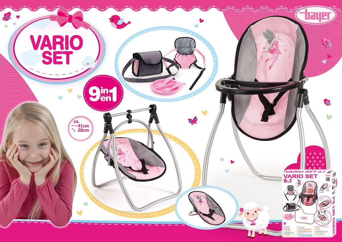 Bayer Аксессуар для кукол Стульчик кенгурушка и сумка куклы и одежда для кукол bayer малышка первый поцелуй 42 см
