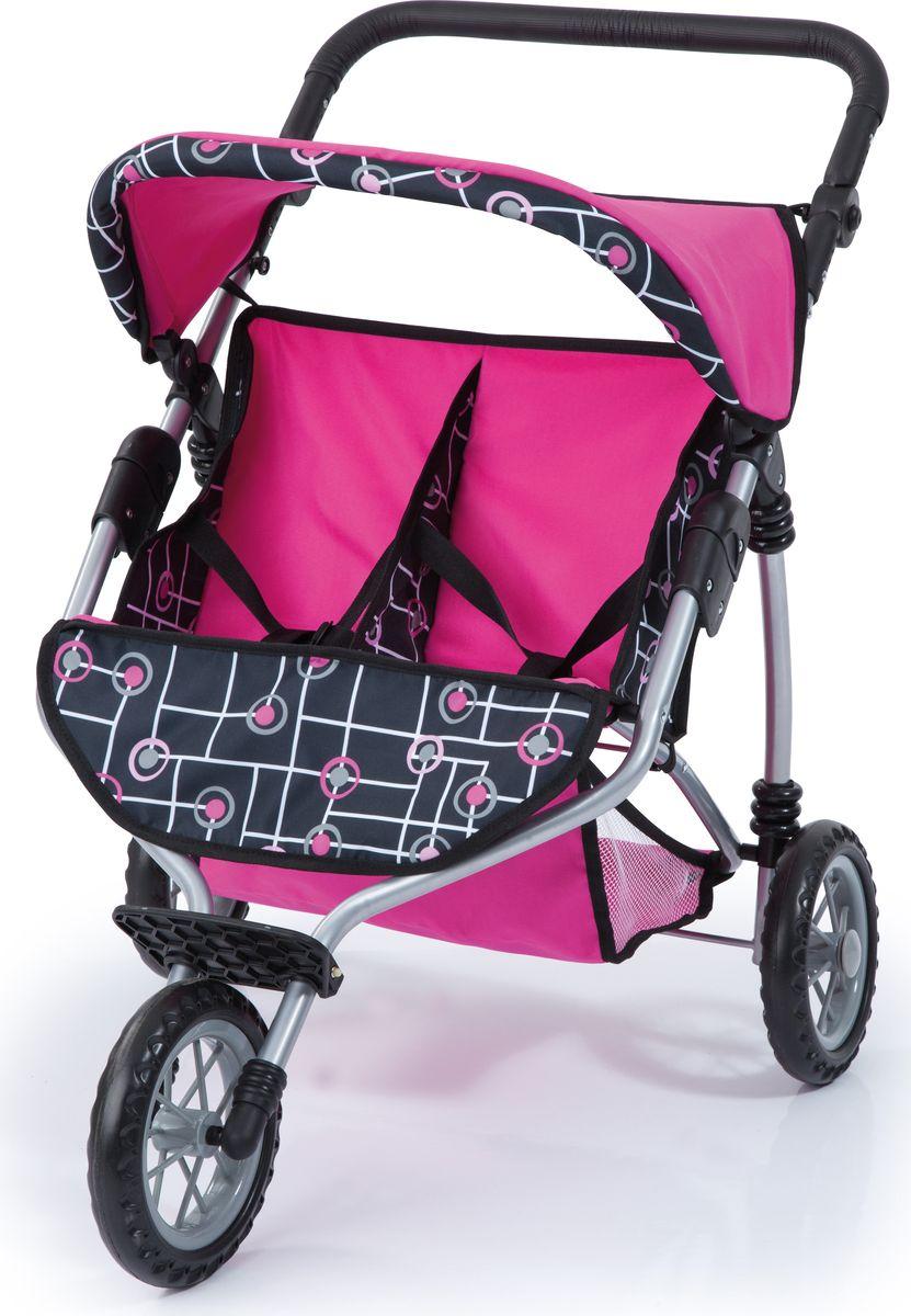 Bayer Транспорт для кукол Прогулочная коляска для двух игрушек 33991АА куклы и одежда для кукол bayer малышка первый поцелуй 42 см