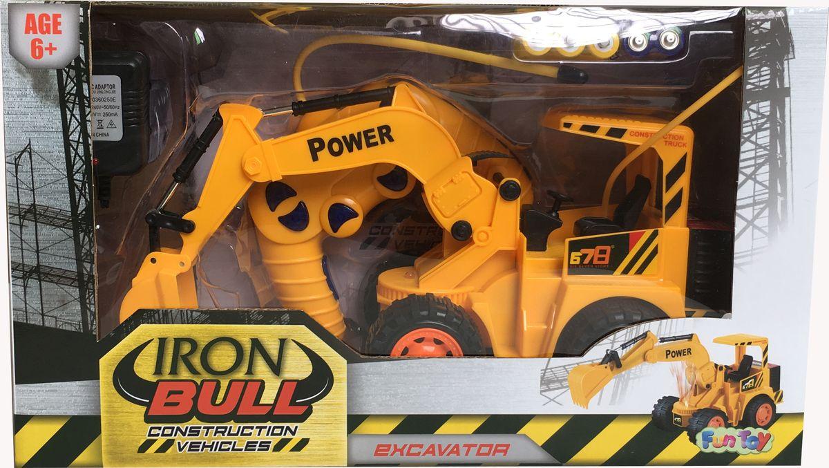 Fun Toy Экскаватор на радиоуправлении 44422