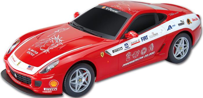 MJX Радиоуправляемая модель Ferrari 599 GTB Fiorano Panamerican цвет красный атаманенко игорь григорьевич лицензия на вербовку