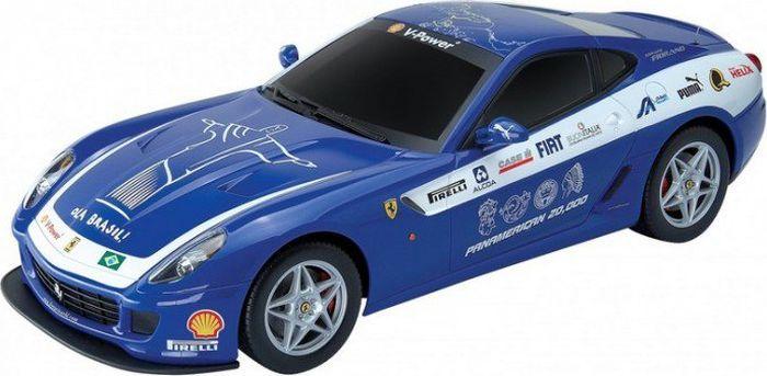 MJX Радиоуправляемая модель Ferrari 599 GTB Fiorano Panamerican цвет синий