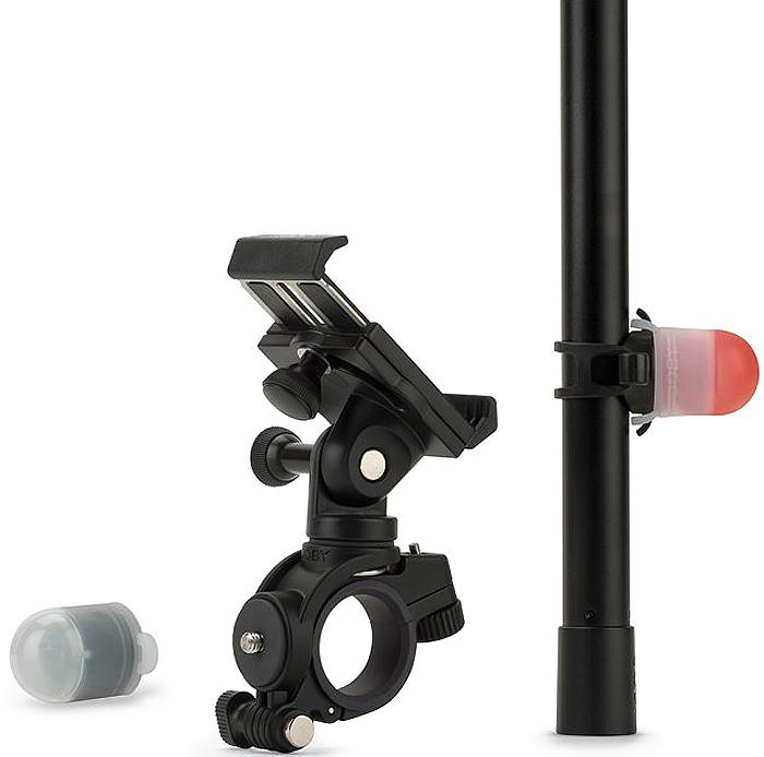 Joby GripTight Bike Mount PRO & Light Pack, велосипедный держатель для смартфона с фонариком