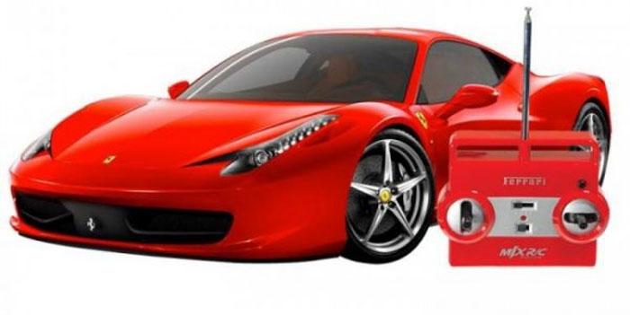 MJX Радиоуправляемая модель Ferrari 458 Italia масштаб 1:20 атаманенко игорь григорьевич лицензия на вербовку