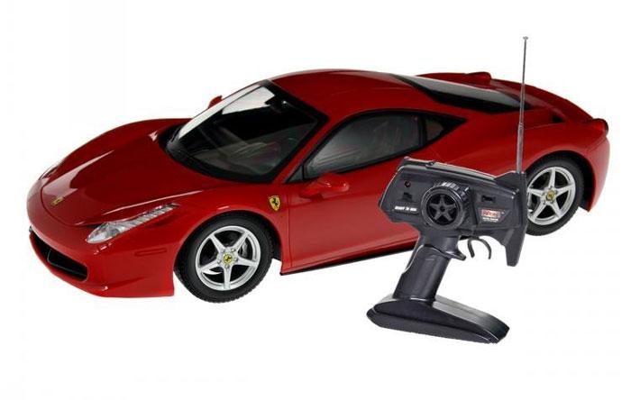 MJX Радиоуправляемая модель Ferrari 458 Italia масштаб 1:14 nikko машина радиоуправляемая bumblebee streetcar