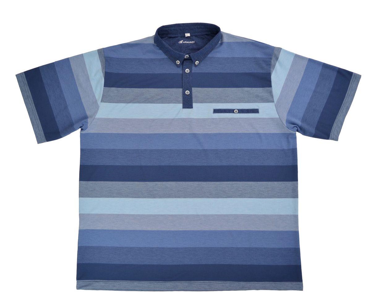 Поло мужское Armaron, цвет: голубой. 91/гол. Размер 68 шорты armaron шорты