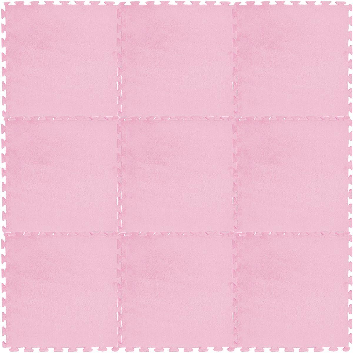 Meitoku Коврик цвет розовый 9 деталей