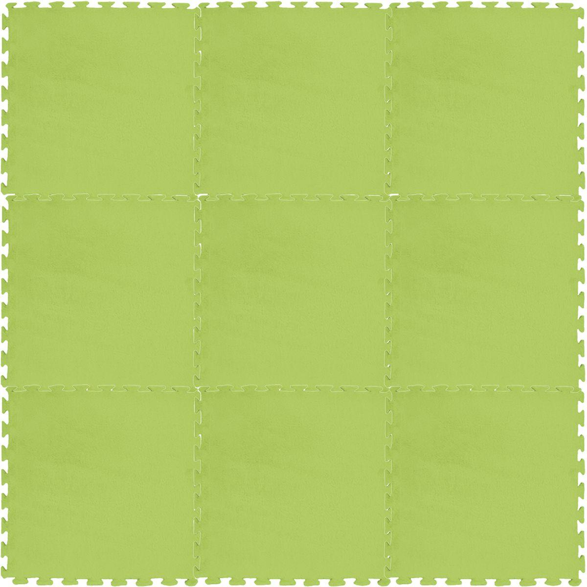 Meitoku Коврик цвет зеленый 9 деталей