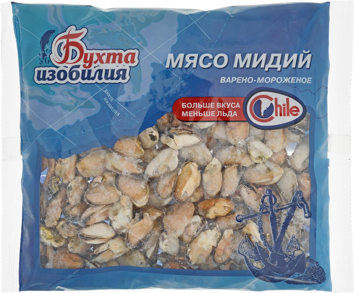 цена на Бухта Изобилия Мясо мидий варено-мороженое, 500 г