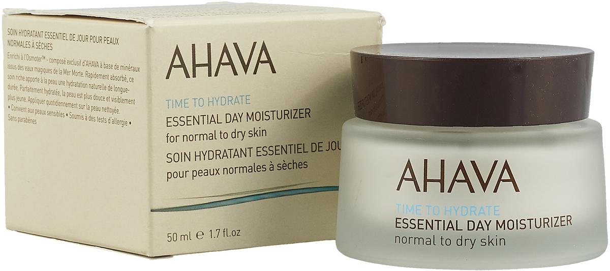 Ahava Time To Hydrate Базовый увлажняющий дневной крем для нормальной и сухой кожи 50мл ahava крем для бритья без пены time to energize 200 мл