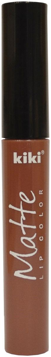 Kiki Помада для губ жидкая Matte lip color 209, 2 мл10300709Жидкая матовая помада для губ KIKI Matte lip color обладает очень нежной, кремовой текстурой, придает губам идеально стойкий матовый цвет и дарит ощущение комфорта. Удобный скошенный спонж позволяет быстро и равномерно распределить помаду, делая губы яркимии привлекательными с бархатистым матовым эффектом.